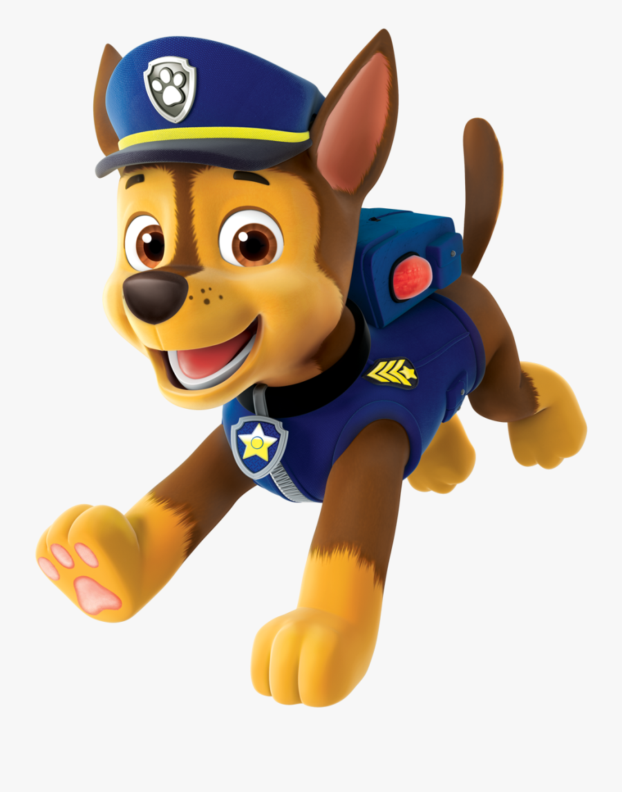 Chase Paw Patrol Clipart Png - Paw Patrol Chase Png, Transparent Clipart