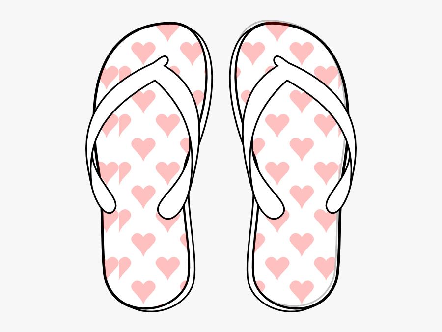 Flip Flop Clip Art At Vector Clip Art - 1 Flip Flop Template, Transparent Clipart