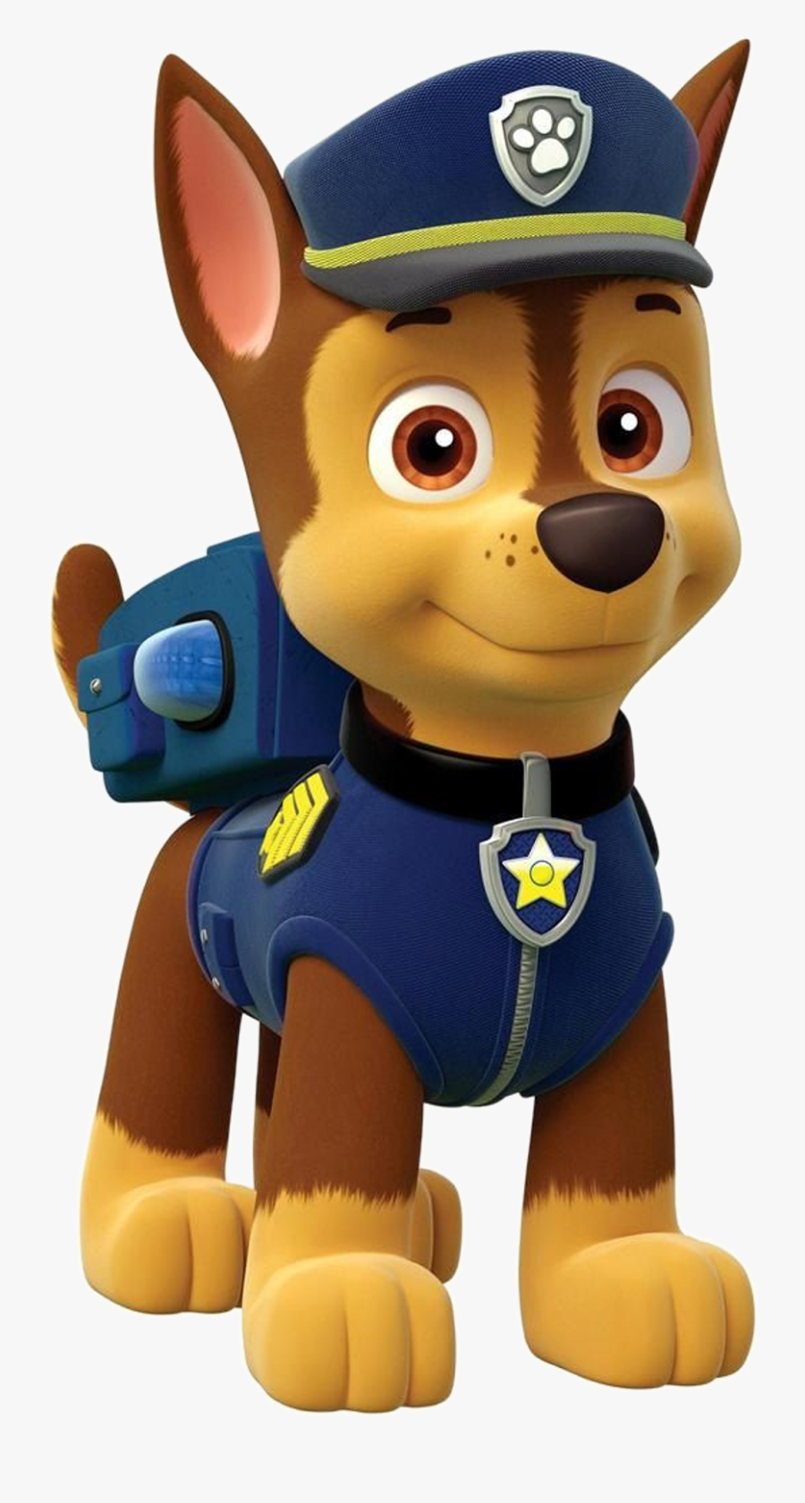 Chase Paw Patrol Clipart Png - Chase Dog Paw Patrol, Transparent Clipart