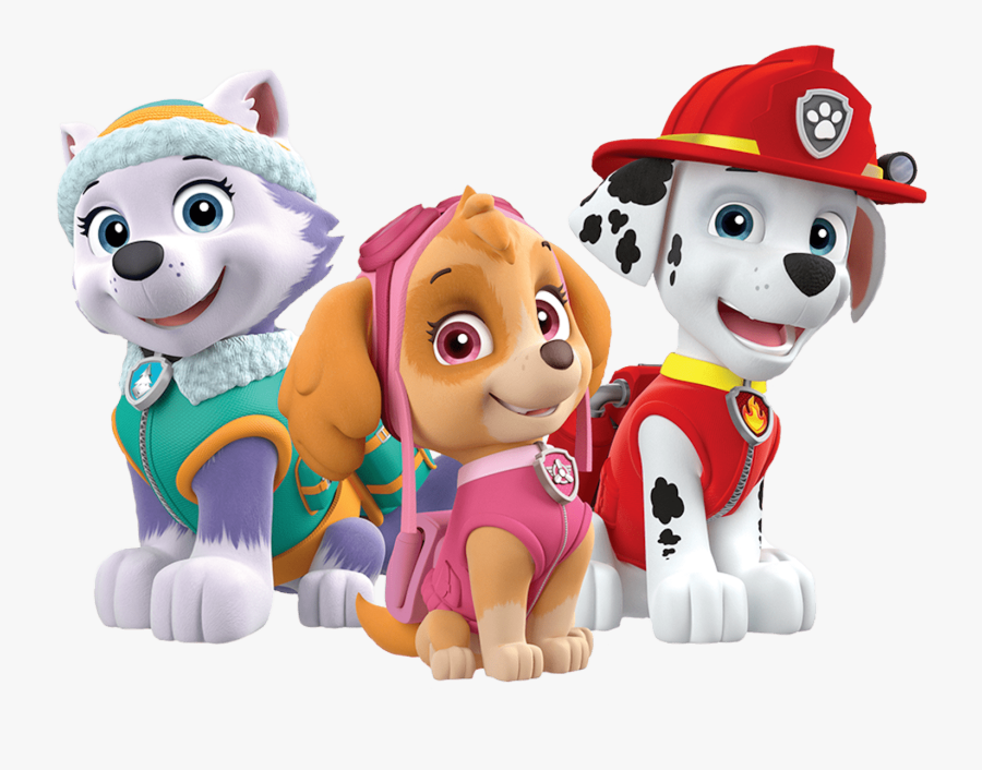 Transparent Paw Patrol Png - Marshall And Skye Paw Patrol, Transparent Clipart