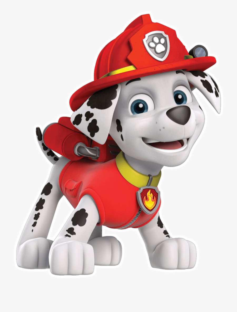 Marshall Smile Paw Patrol Clipart Png Clip Library - Marshall Paw Patrol Png, Transparent Clipart