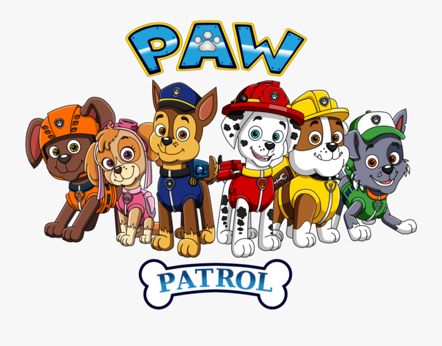 Number Clipart Paw Patrol - Happy Birthday Paw Patrol 5, Transparent Clipart