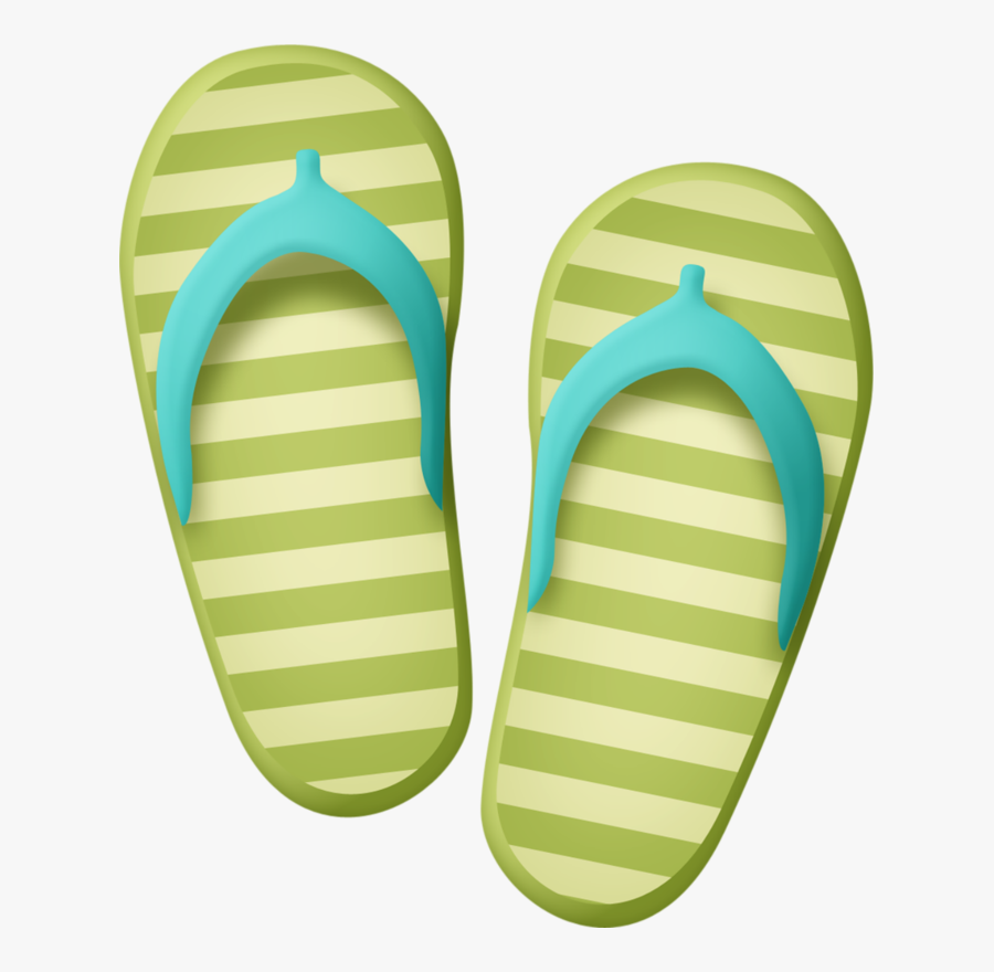 Flipflops - Thing To Use During Sunny Days, Transparent Clipart