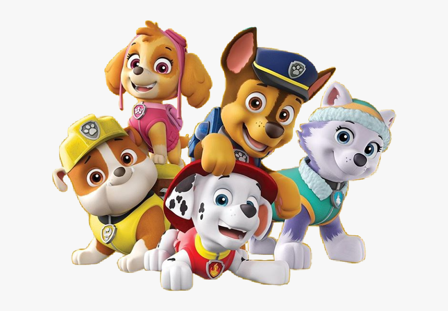 Chase Marshall Paw Patrol, Transparent Clipart