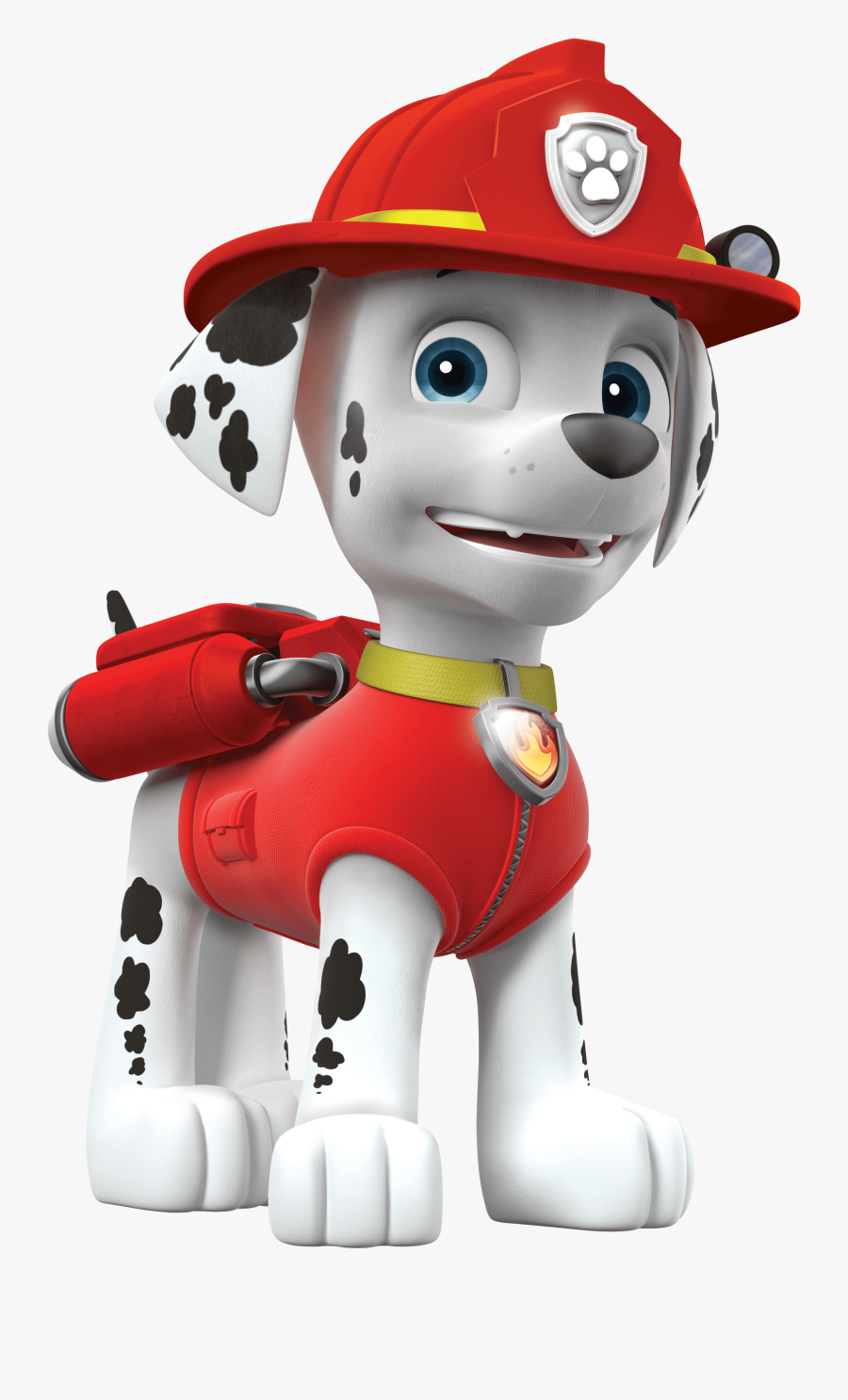 Paw Patrol Marshall Png Clipart Image - Marshall Paw Patrol Characters, Transparent Clipart