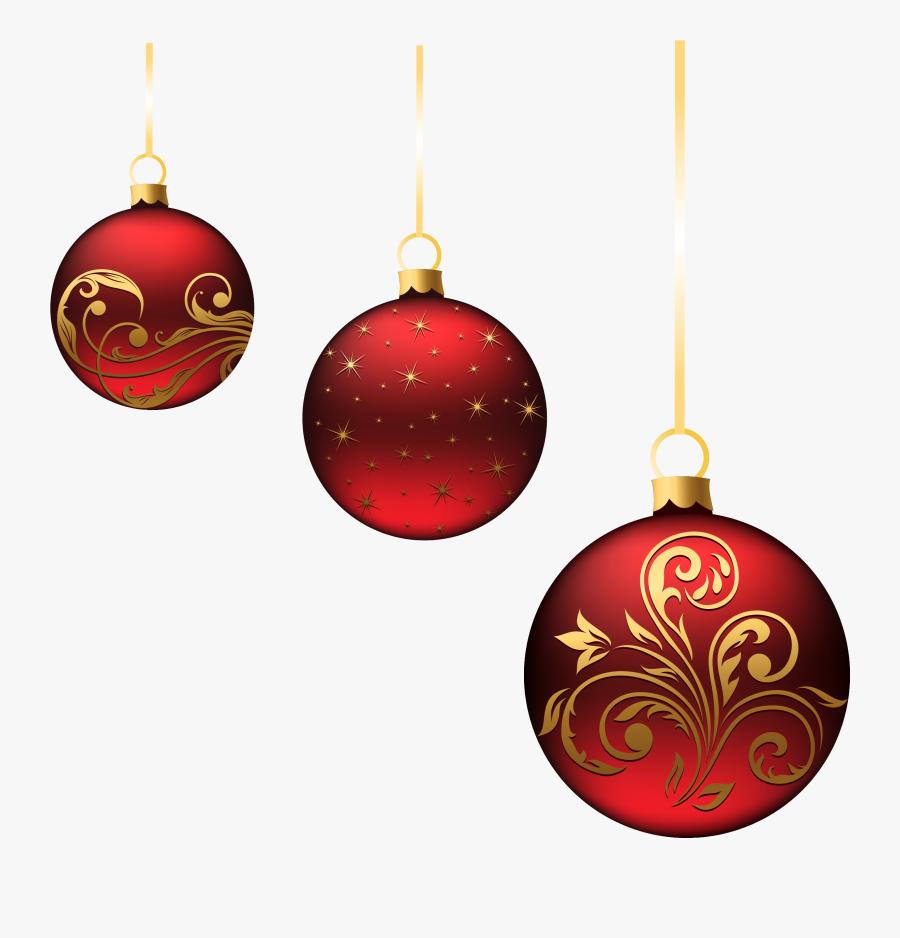 Clip Art Ornament Decoration Clip Art - Christmas Ornaments Transparent Background, Transparent Clipart