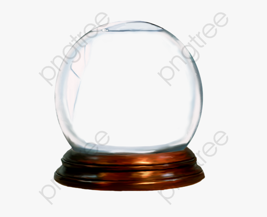 Glass Ball Ornament - Empty Snow Globe Png, Transparent Clipart