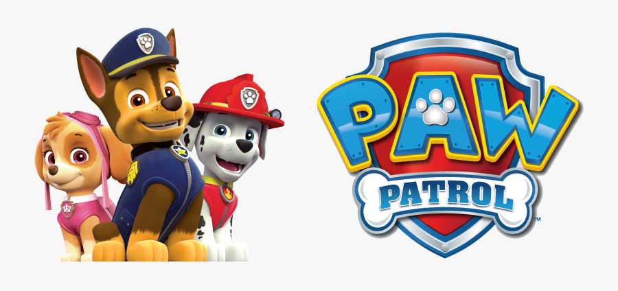 News - Paw Patrol Chase Marshall Rubble, Transparent Clipart