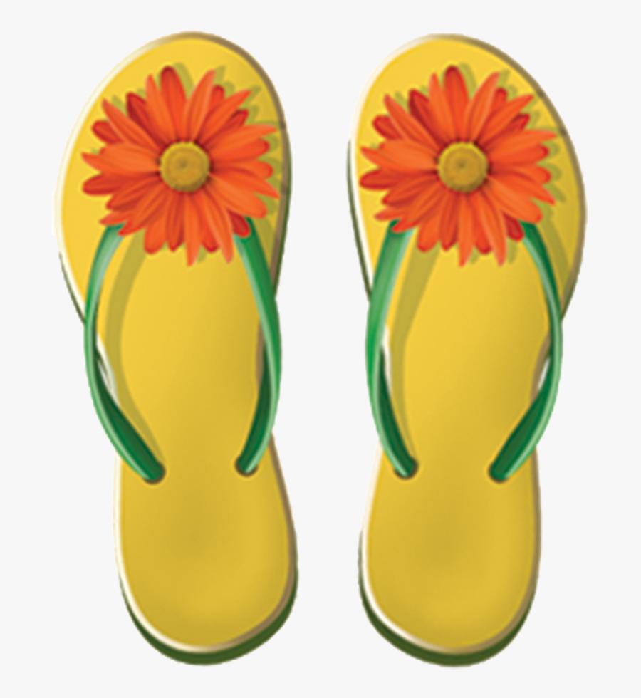 Porc Gs Girls Flip Flops Copy - Flip-flops, Transparent Clipart