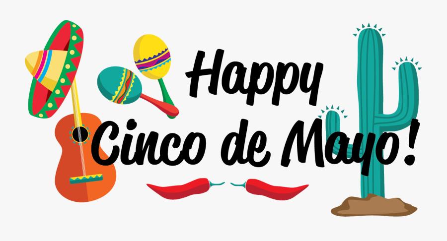 Happy Cinco De Mayo Clipart, Transparent Clipart