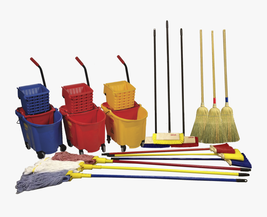 Clipart Vacuum Money - Brooms And Mops Png, Transparent Clipart