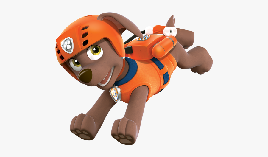 Clip Art Pictures Of Skye From Paw Patrol - Zuma Paw Patrol Characters, Transparent Clipart