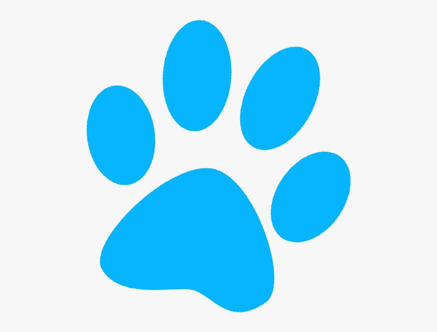 Paws Clipart Paw Patrol - Paw Patrol Blue Paws, Transparent Clipart