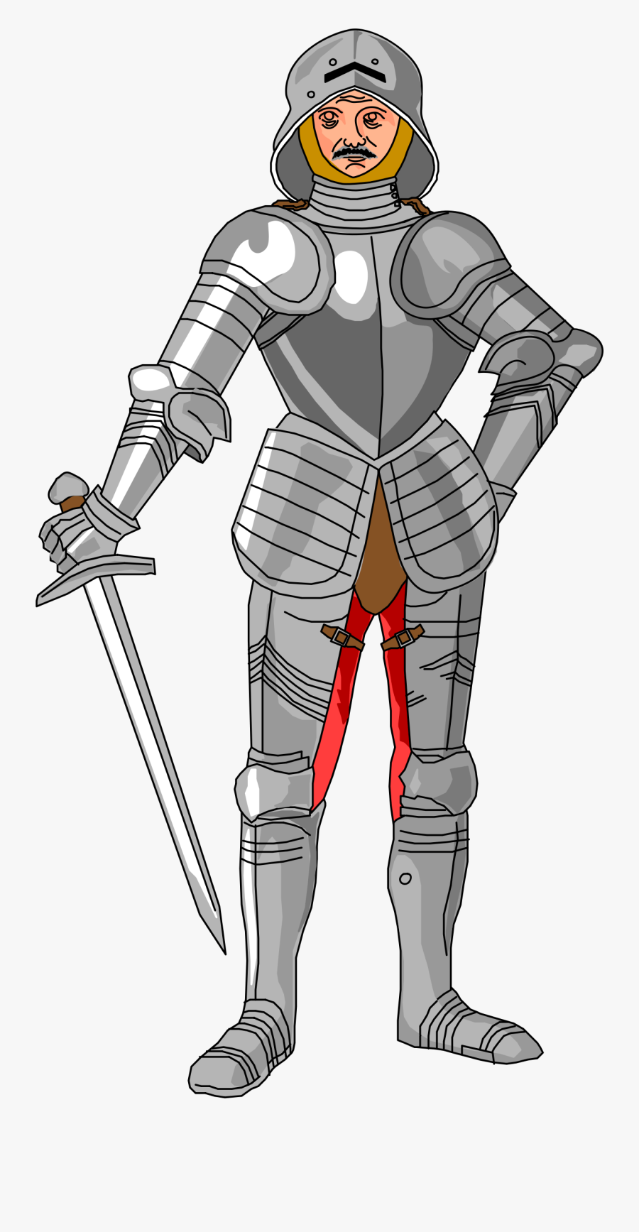 Thumb Image - Knights Middle Ages Clipart, Transparent Clipart