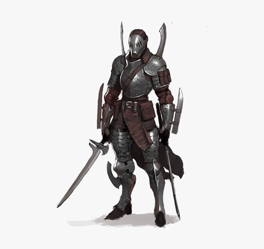 Knight Warrior Concept Art Character Anime Assassin Outfit Male Free Transparent Clipart Clipartkey