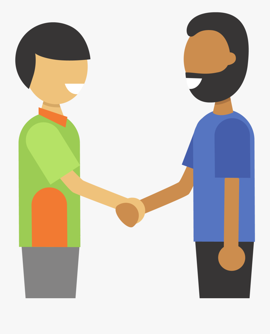 Clip Library Payment Integrity Responsibilities - Two People Holding Hands Clipart, Transparent Clipart