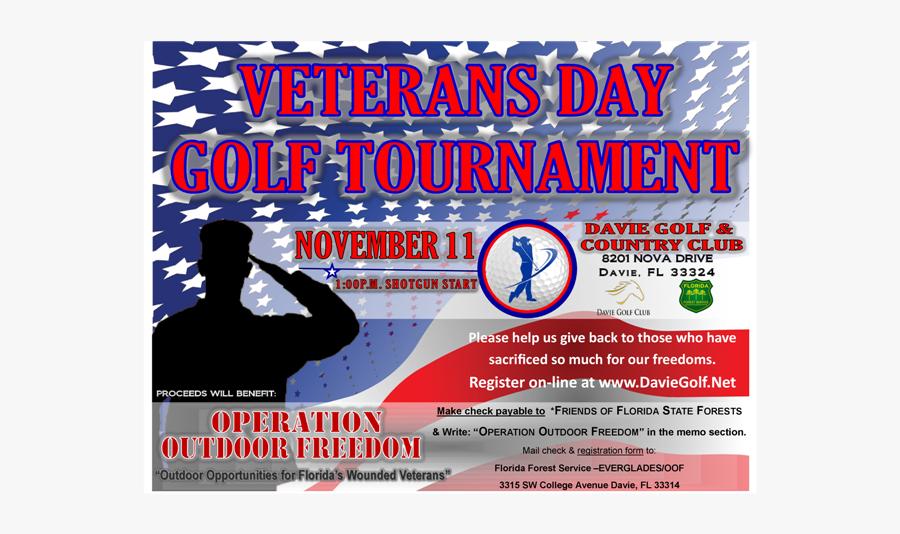 Clip Art Golf Tournament Flyer - Flyer, Transparent Clipart