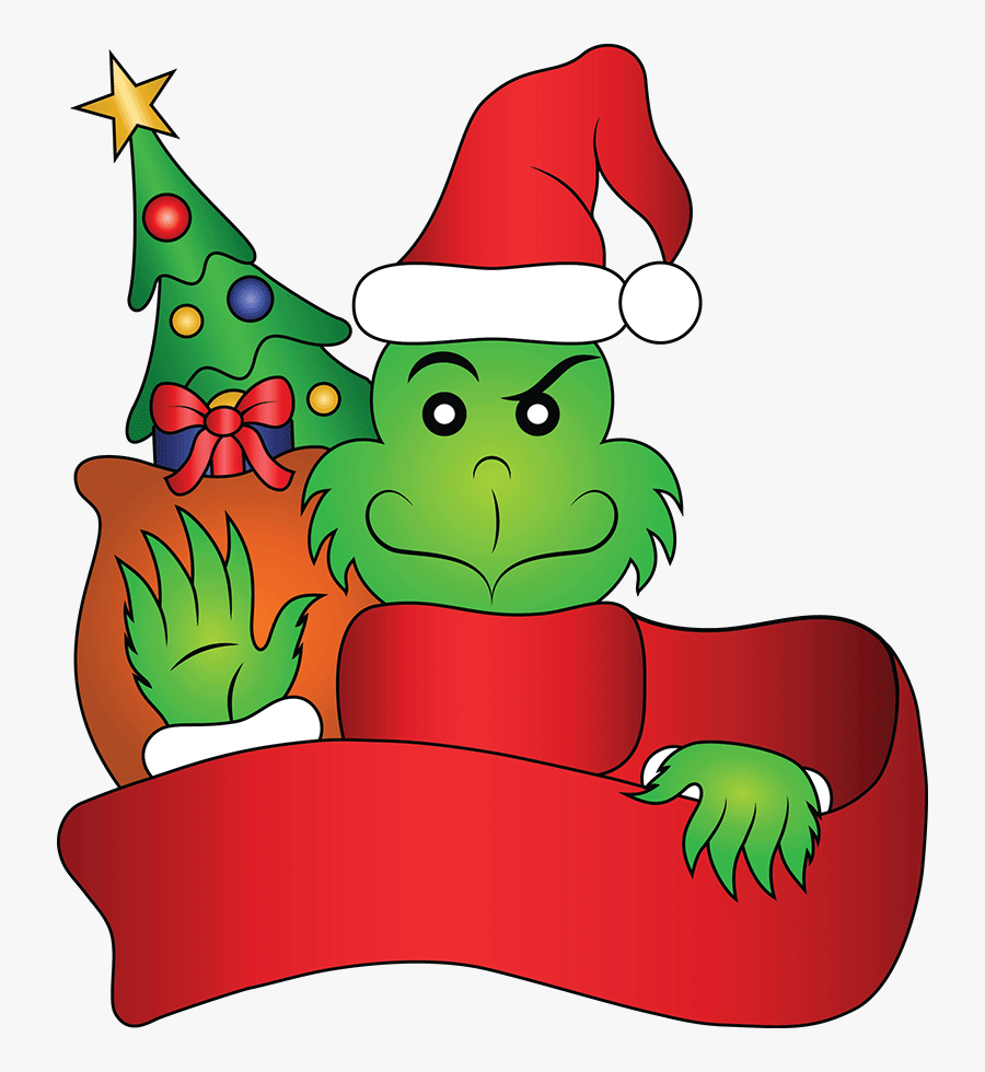 Free Grinch Cliparts, Download Free Clip Art, Free - How The Grinch Stole Christmas, Transparent Clipart