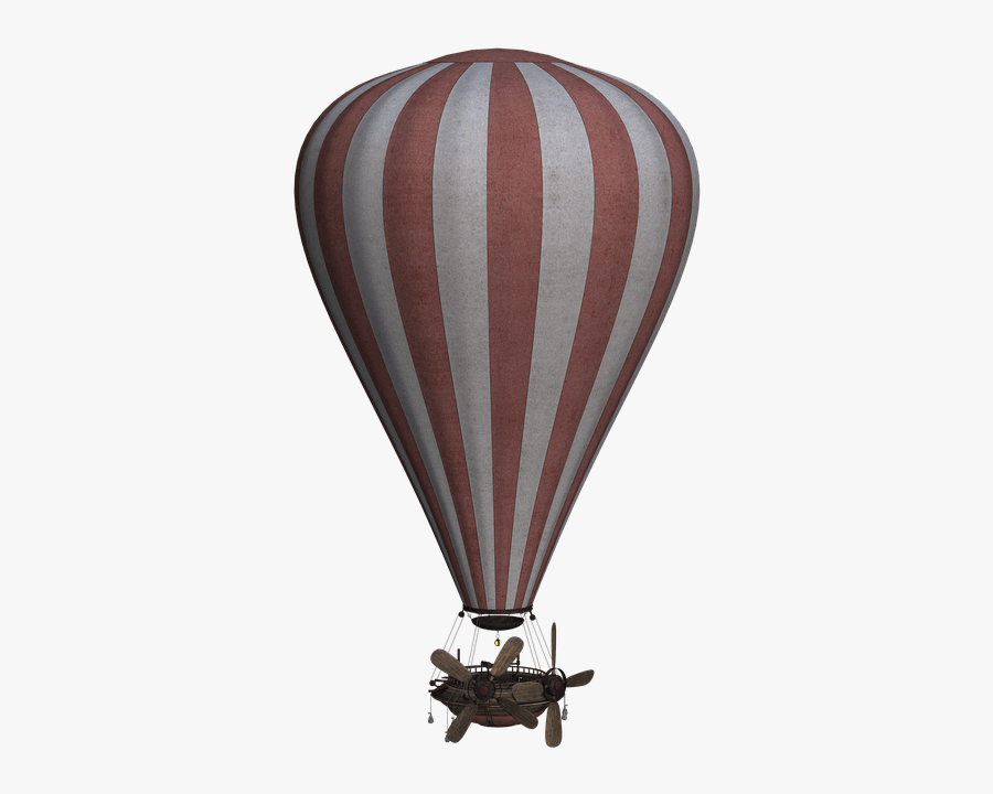 Hot Air Simple Transparent - Old Hot Air Balloon Png, Transparent Clipart