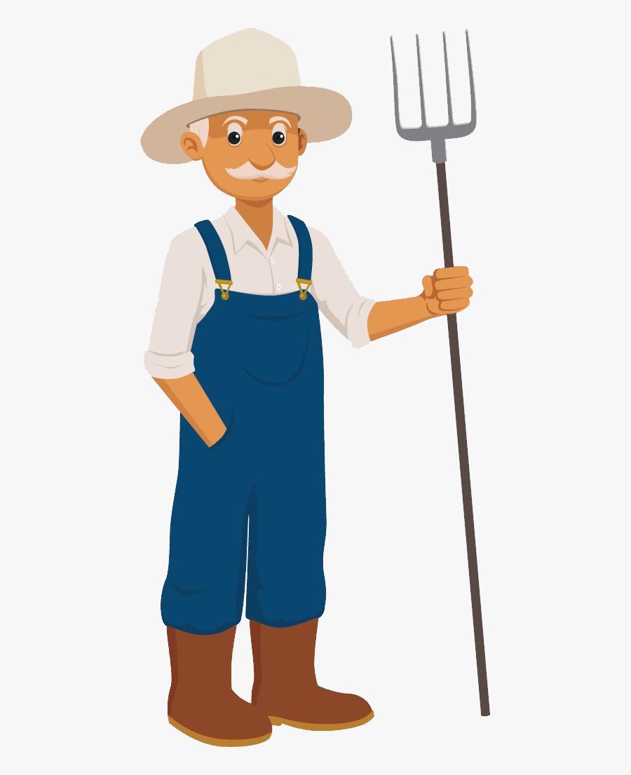 Farmer Agriculture, Farmer, Clip Art, 18th, Farmers, - Farmer Clipart Png, Transparent Clipart