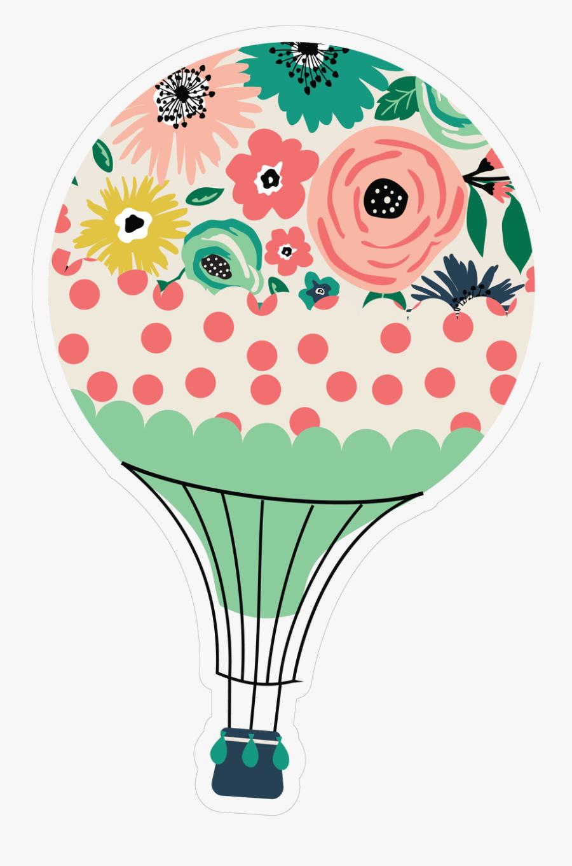 Hot Air Balloon Clipart , Png Download - Hot Air Balloon With Girl Clip Art, Transparent Clipart