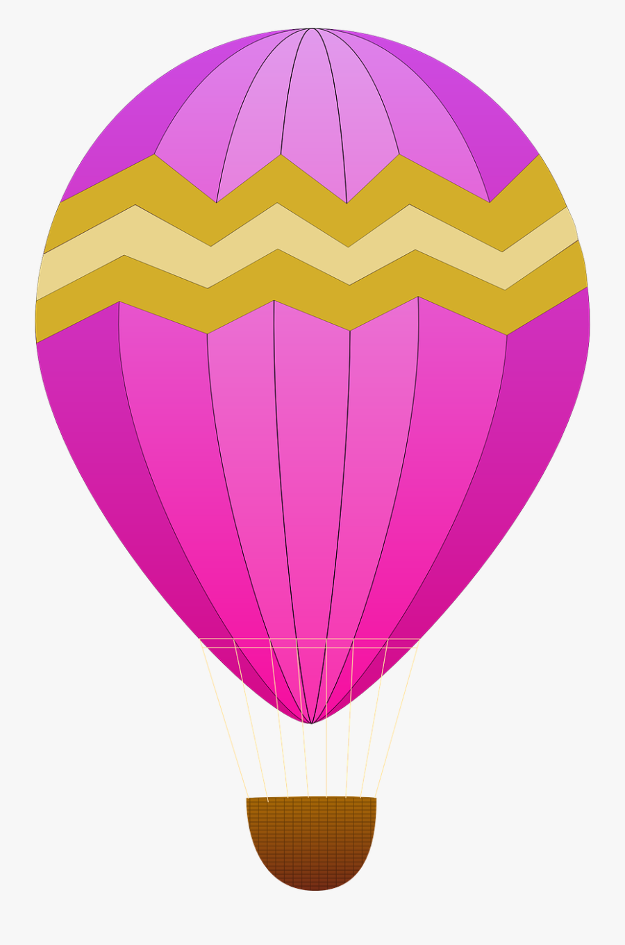 Purple,hot Air Ballooning,hot Air Balloon - Hot Air Balloon Clip Art, Transparent Clipart