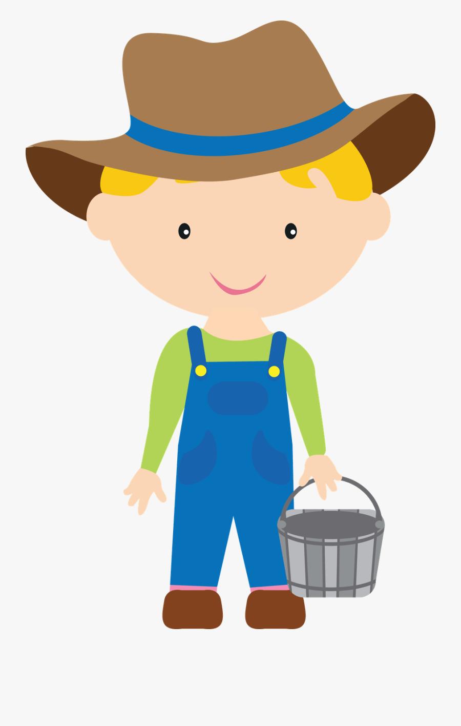 Boy Farmer Clipart - Farmer Boy Clipart, Transparent Clipart