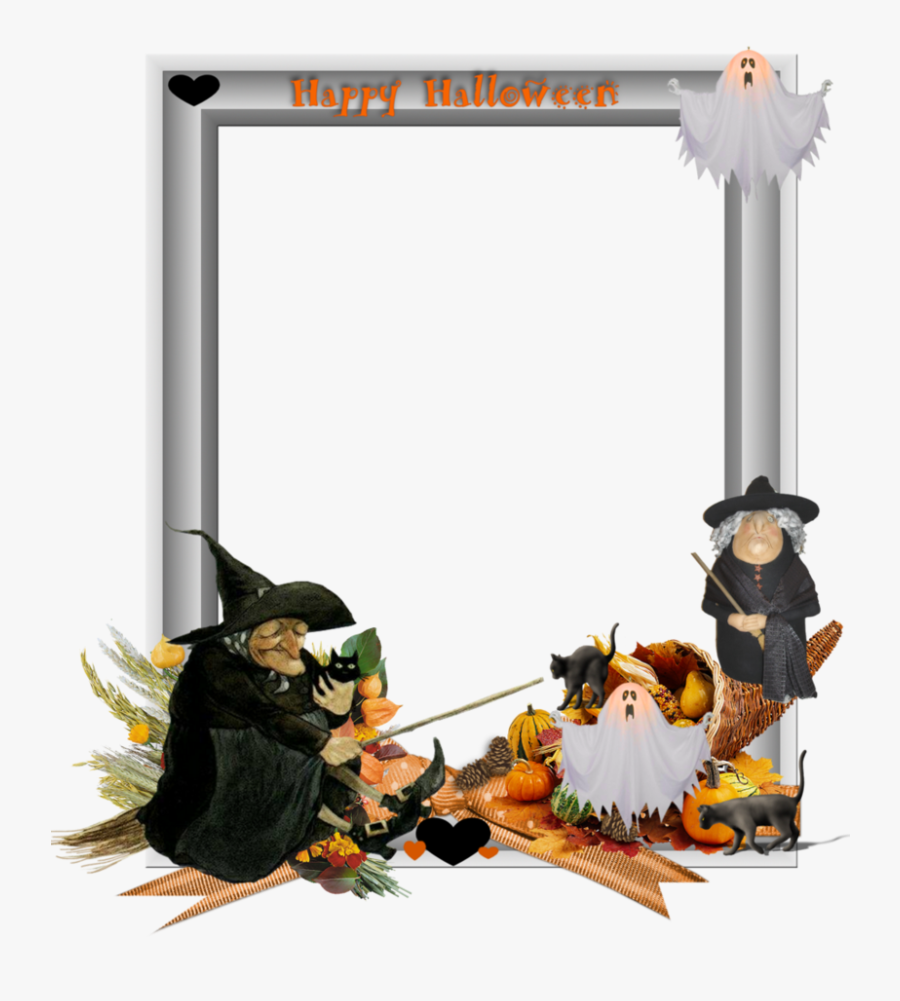 Halloween Border Vector Free Png Photo - Halloween Frames And Borders, Transparent Clipart