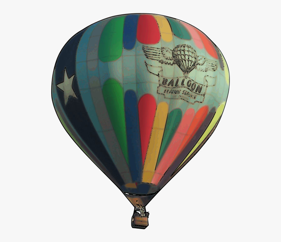 Hot Air Balloon Clip Art Png - Real Hot Air Balloon Clipart, Transparent Clipart