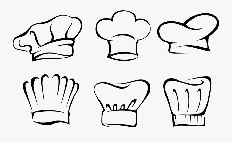 Free Chef Hat Clipart For Kids Chefs Uniform - Toque De Chef Dessin, Transparent Clipart