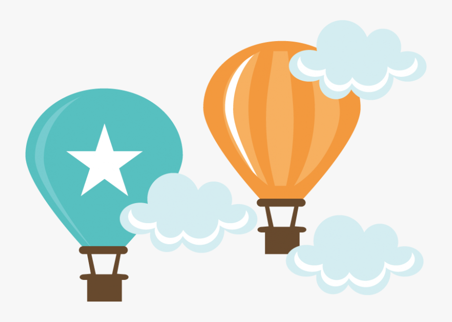 Transparent Balloon Clipart No Background - Cute Hot Air Balloon Clipart Png, Transparent Clipart