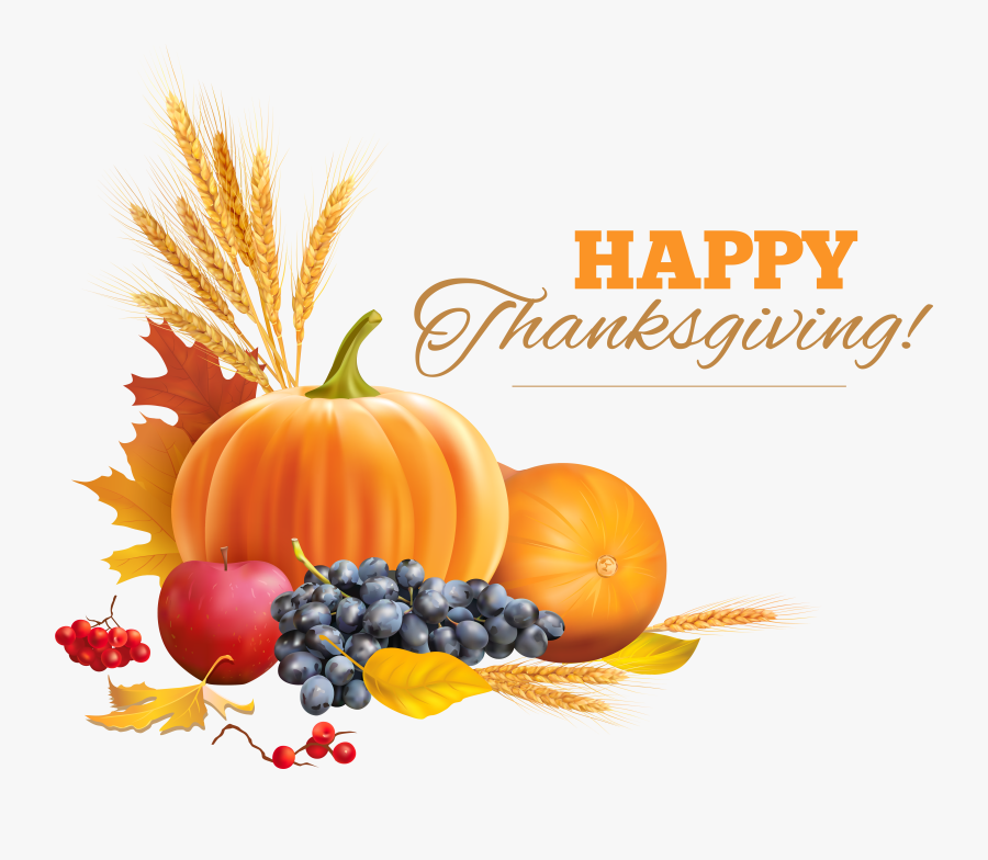 Happy Thanksgiving Decor Png - Happy Thanksgiving No Background, Transparent Clipart