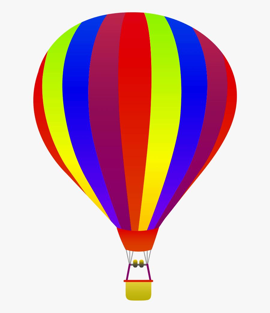 Hot Air Balloon No Background - Hot Air Balloon Transparent Background, Transparent Clipart