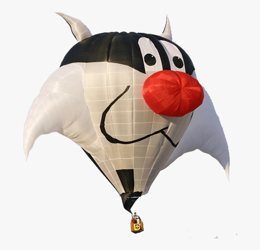 Vintage Hot Air Balloon Clipart Transparent Stick - Cartoon Pics Of Hot Air Balloon, Transparent Clipart