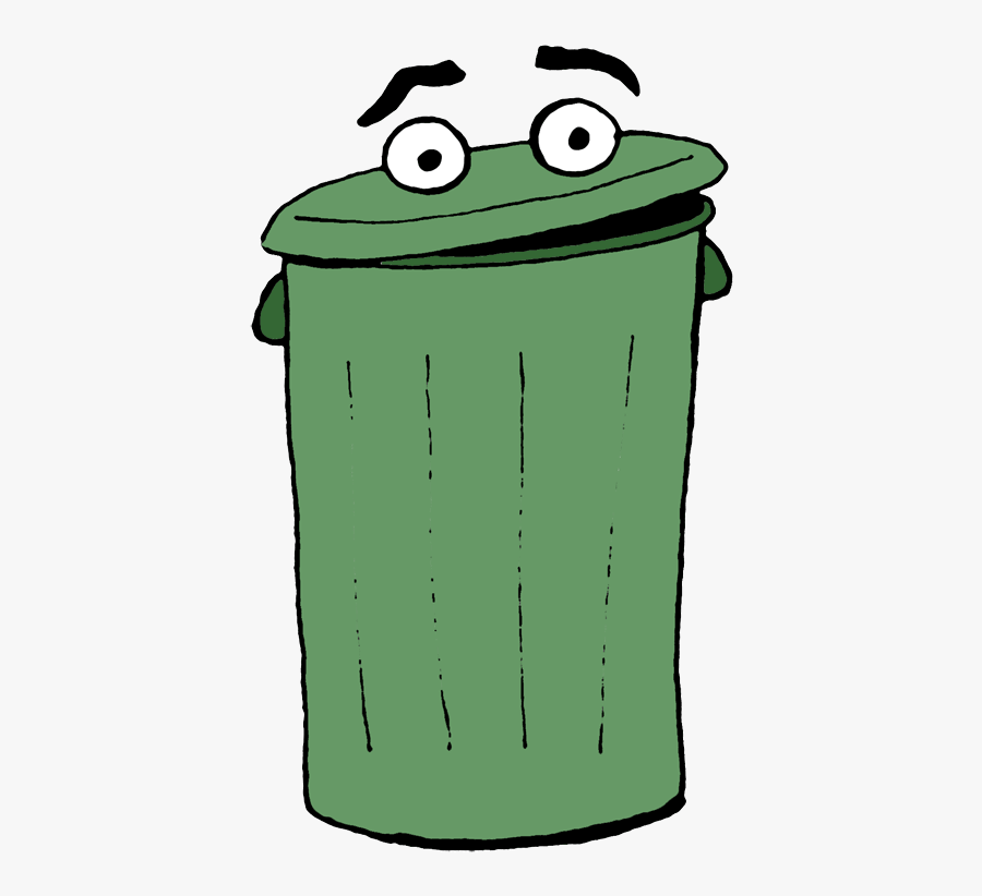 Garbage Can Clipart Trash Can Cartoon Gif Free Transparent