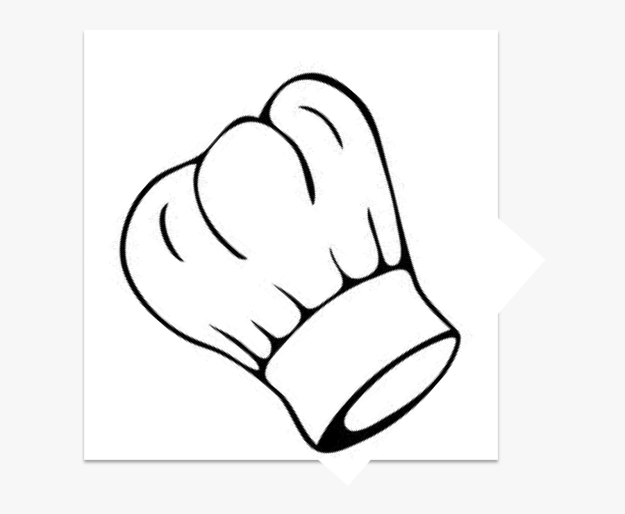 "Chef Hat Clip Art Clipart Chef""s Uniform Clip Art - Chef Hat Drawing Easy, Transparent Clipart"