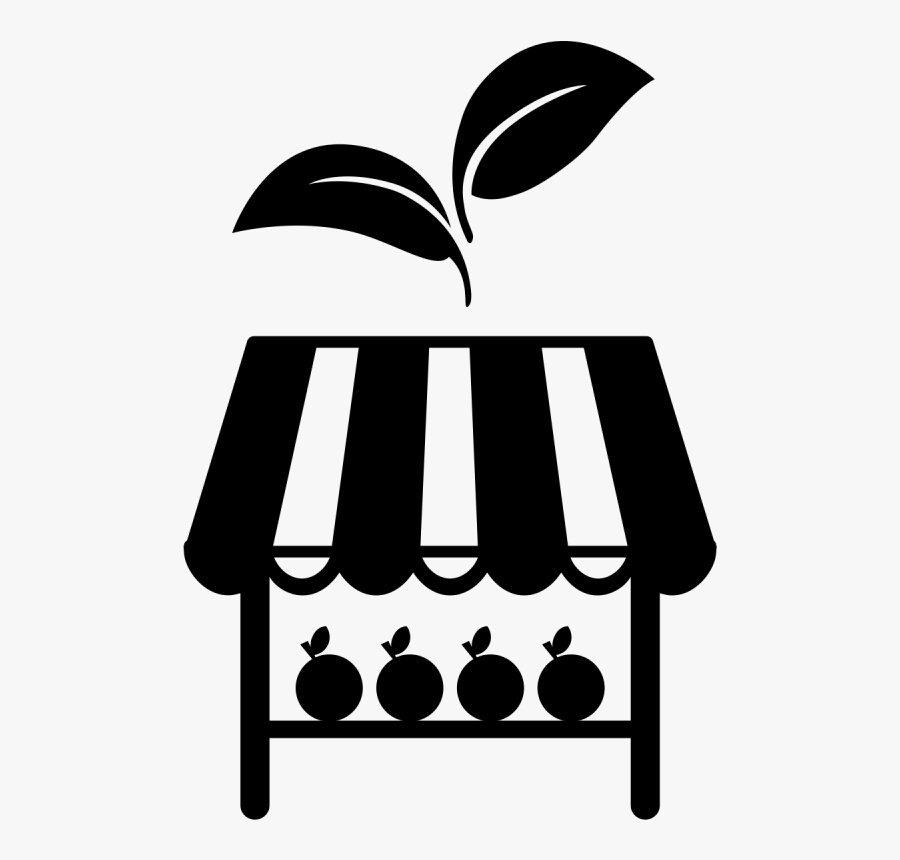 Farmers Market Clipart Black And White , Transparent - Farmers Market Clipart Black And White, Transparent Clipart