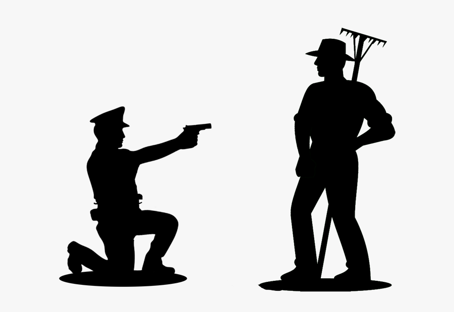 Farmer Silhouette Clipart - Silhouette Clip Art Farmer, Transparent Clipart