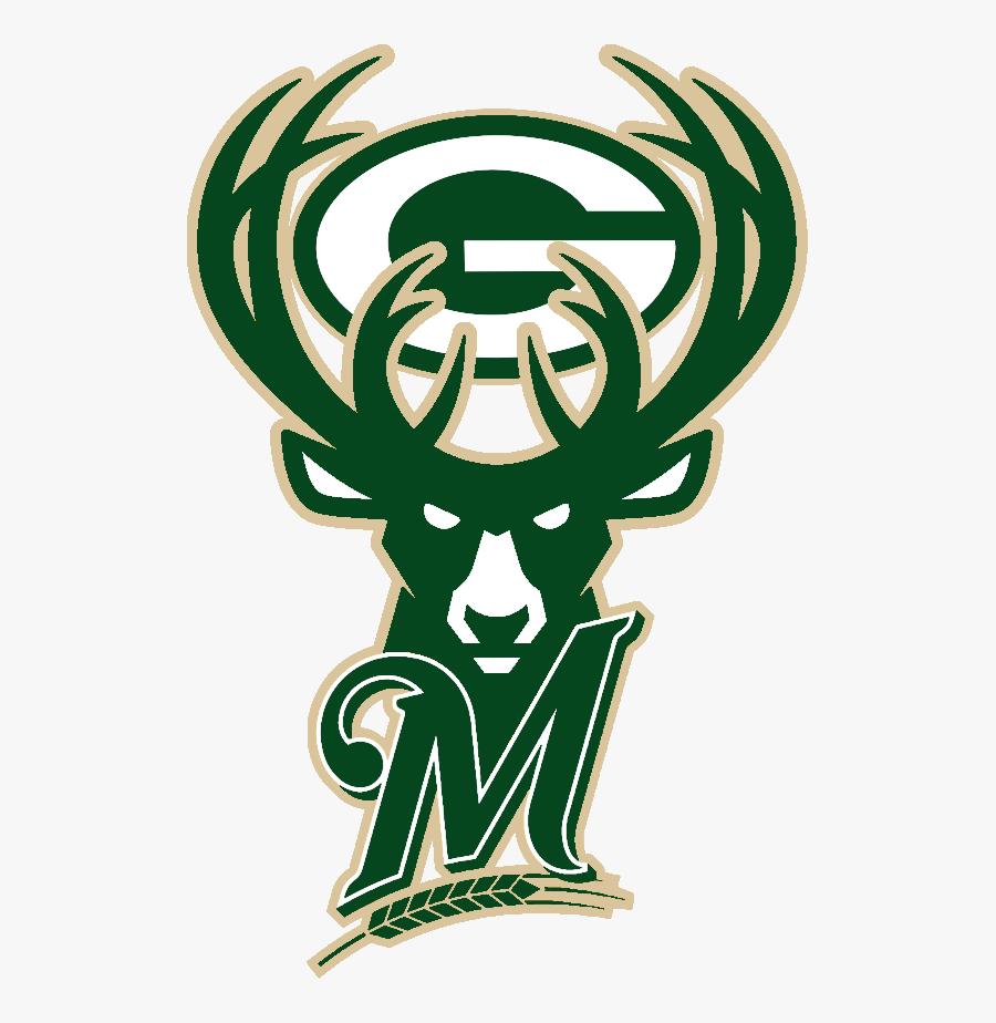 Milwaukee Bucks Logo 2019, Transparent Clipart