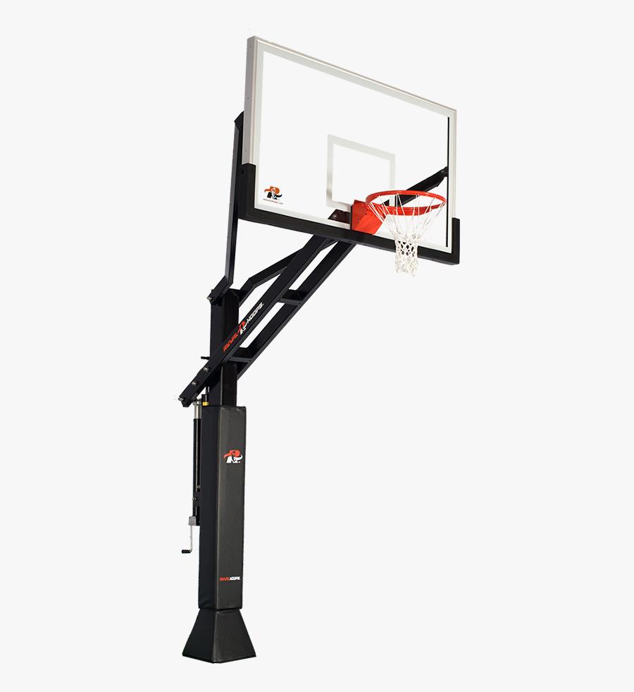 Backboard Basketball Canestro Spalding Net - Basketball Hoop Transparent Background, Transparent Clipart