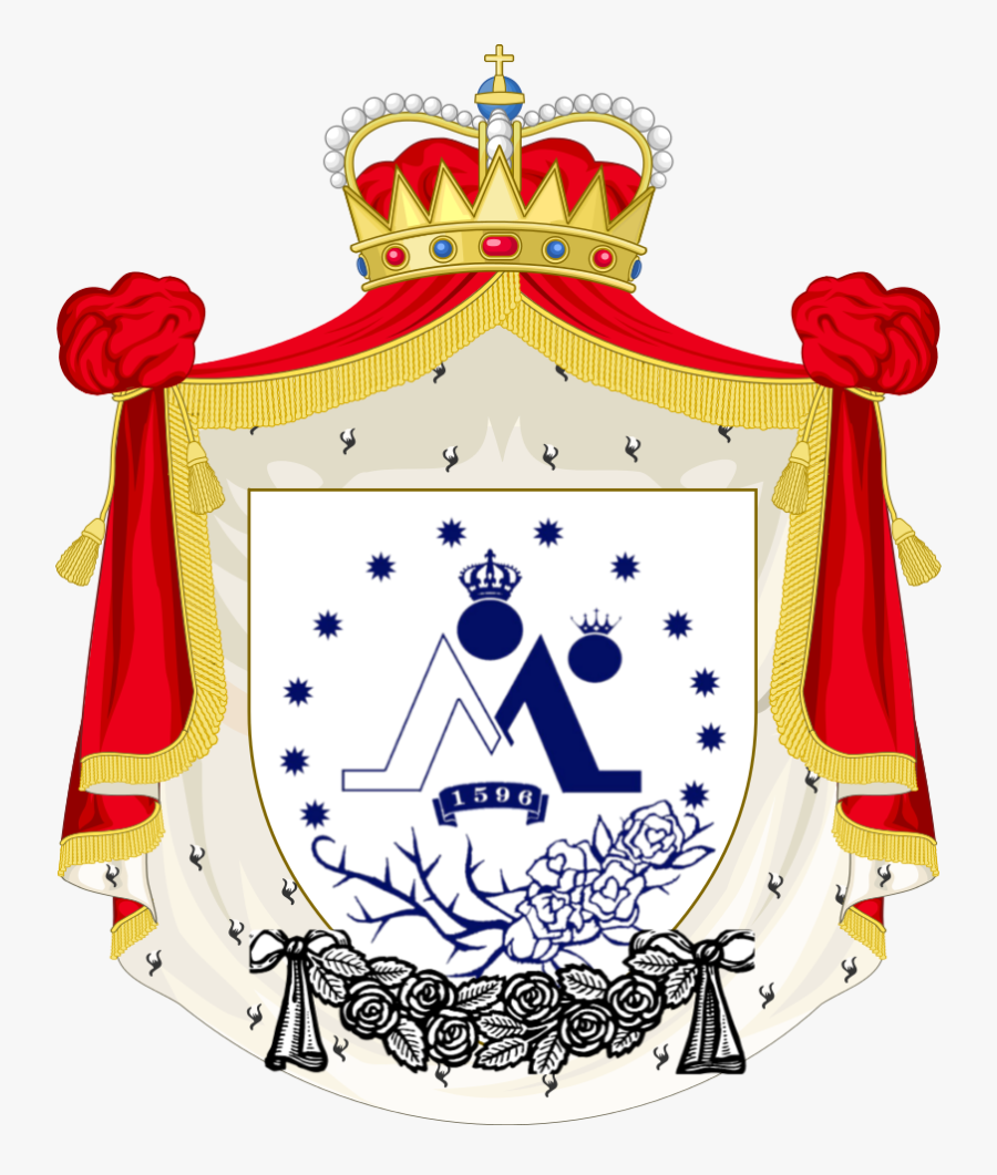 Society Of The White Rose Of The Most Holy Virgin Of - Coat Of Arms Bonaparte, Transparent Clipart