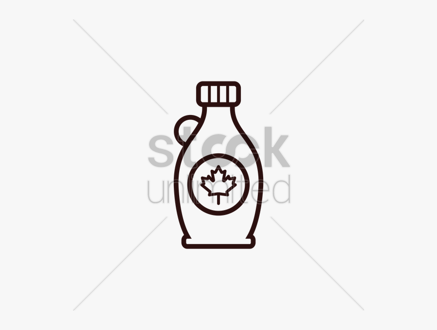 Drawing At Getdrawings Com - Cartoon Maple Syrup Bottle, Transparent Clipart