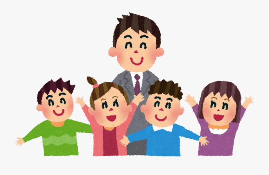 Hd With Students And - Teacher And Student Png, Transparent Clipart