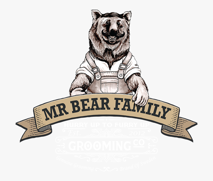 Mr Bear Family - Mr Bear Family Logo, Transparent Clipart