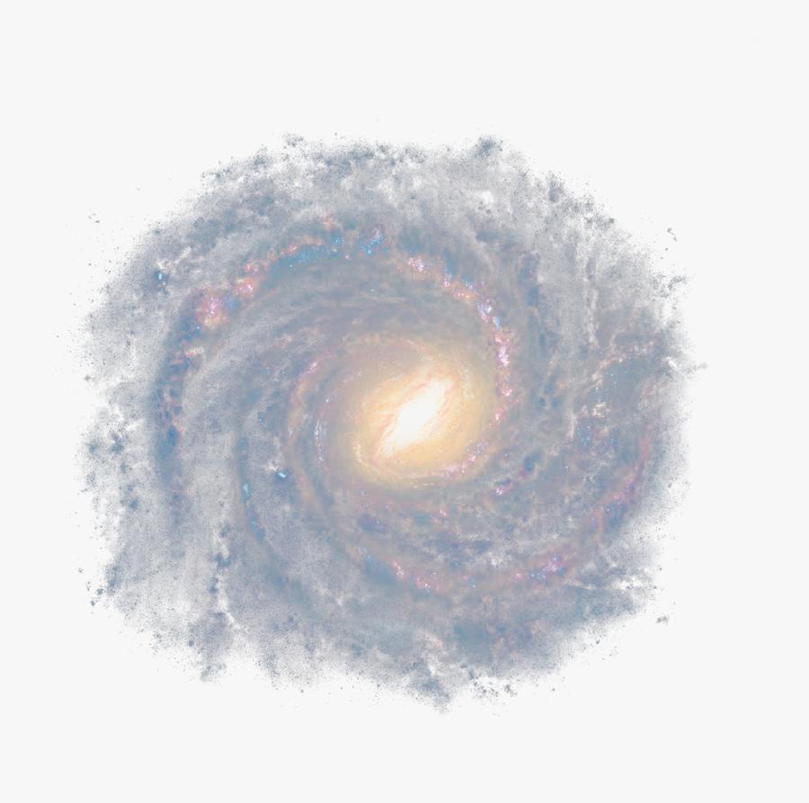 #cyclone #spiral #galaxy #space #universe #sky #outerspace - Spiral Galaxy Transparent Png, Transparent Clipart