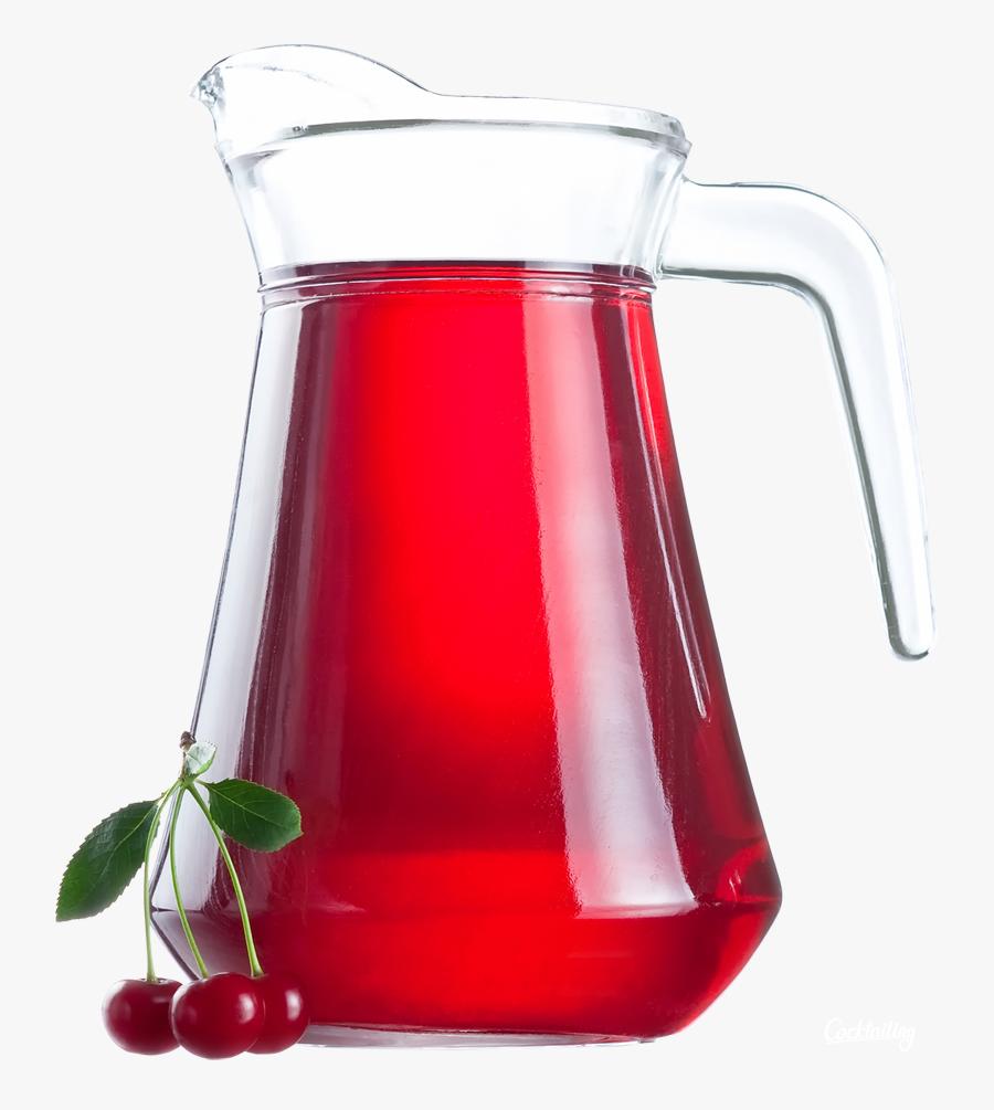 Cherry Juice Png Image - Cranberry Juice No Background, Transparent Clipart