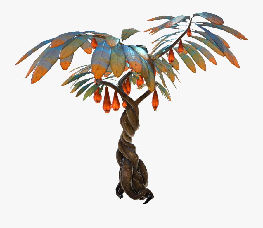 Clip Art Lantern Fruit Subnautica - Lantern Fruit Tree Subnautica, Transparent Clipart