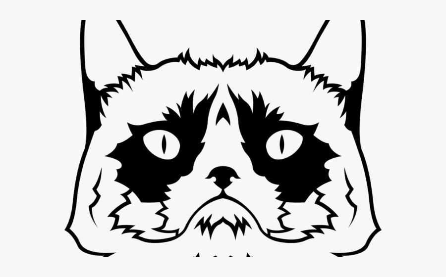 Grumpy Cat Clipart Png , Png Download - Grumpy Cat, Transparent Clipart