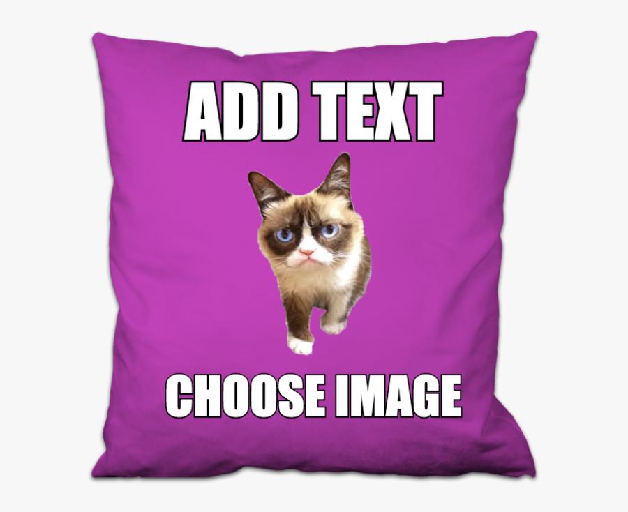Create Your Own Grumpy Cat Meme - Meme, Transparent Clipart