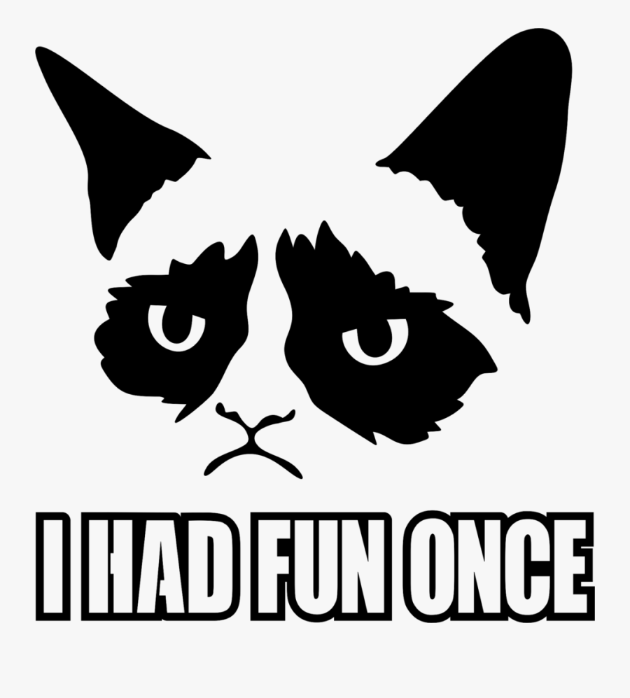 Grumpy Cat Valentines Day Memes - Cat Face Cross Stitch Patterns, Transparent Clipart